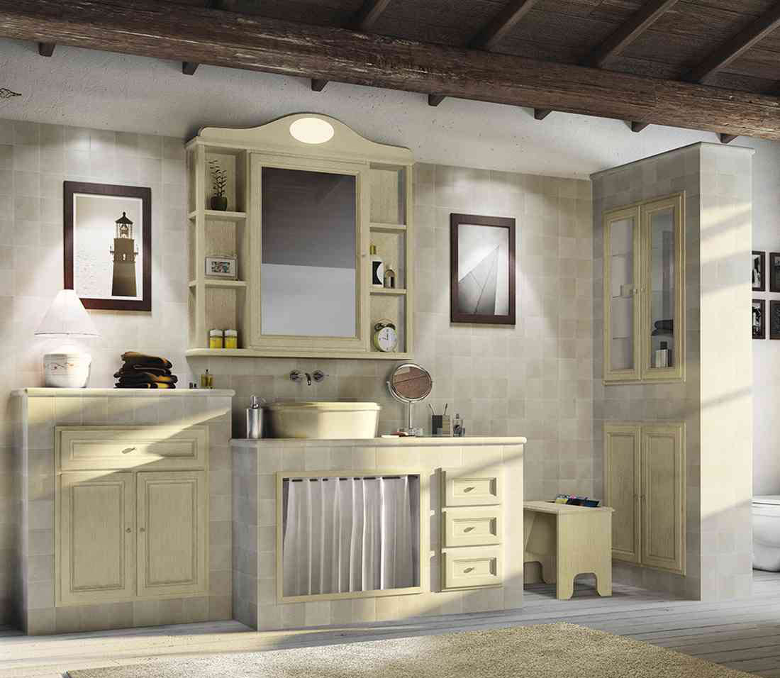 Cerasa cucine lube roma dfg arredamenti - Rivestimenti bagno classici ...