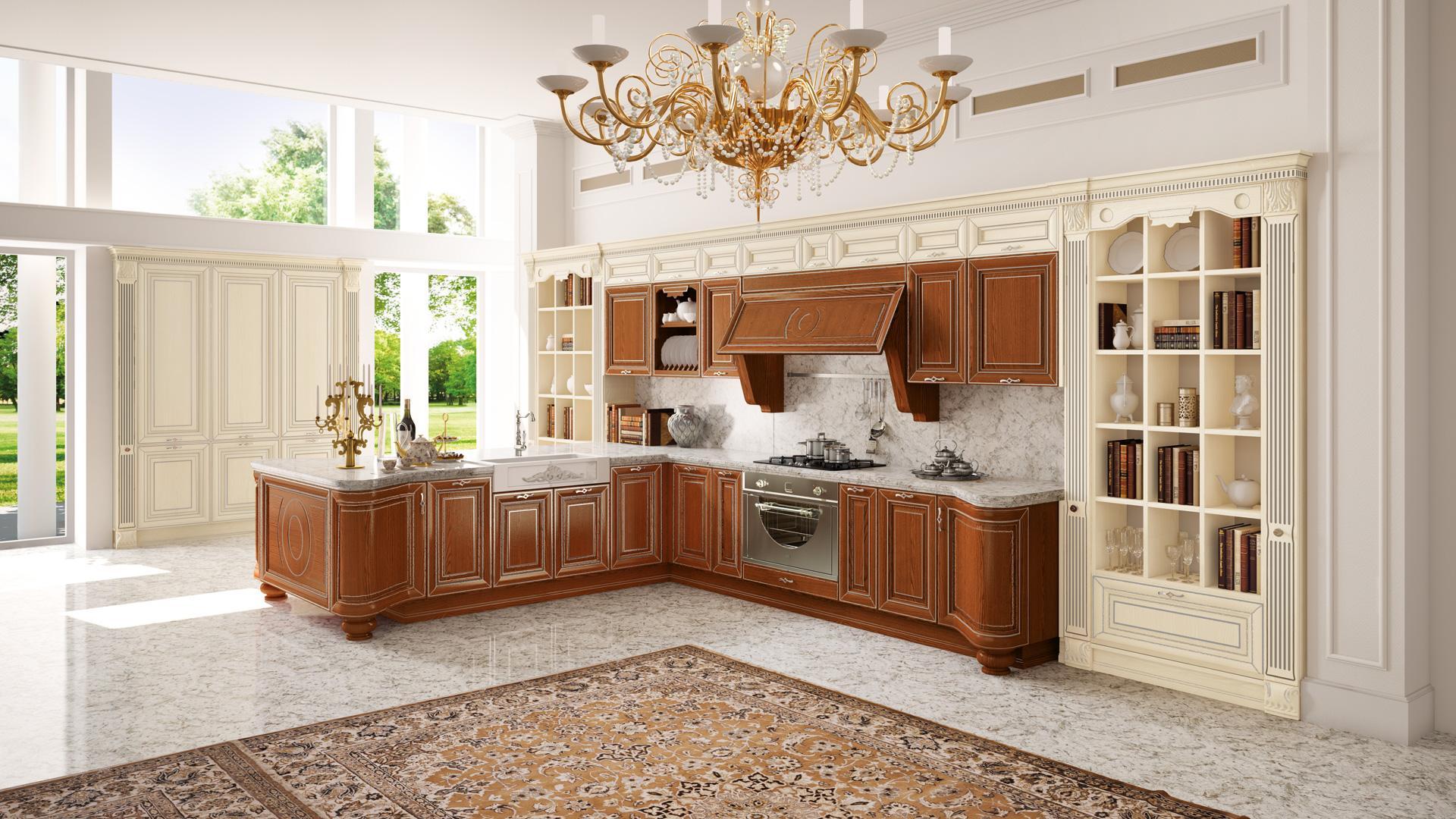 Progettare un moderno monolocale - Cucine classiche roma ...