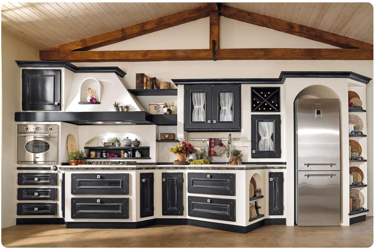 Cucine muratura roma cucine lube roma dfg arredamenti - Cucine finta muratura lube ...