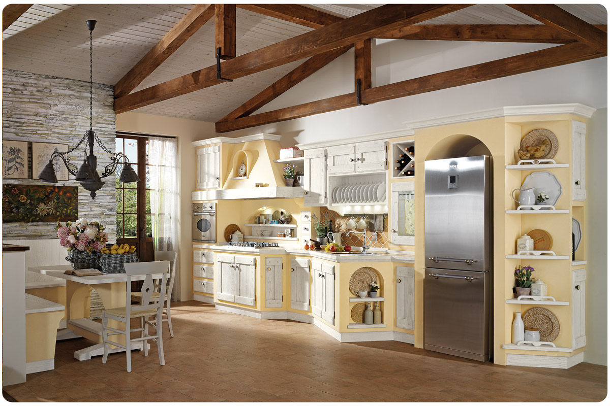 Cucine In Muratura Moderne Colorate. Awesome Cucine Con ...