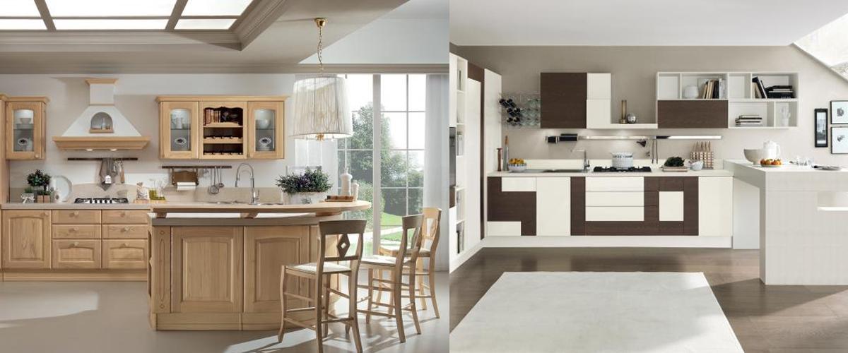 Cucina classica o moderna cucine lube roma dfg for Cucina moderna classica